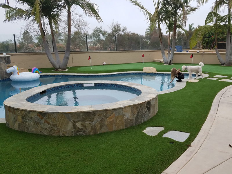 SWIMMING POOL TURF