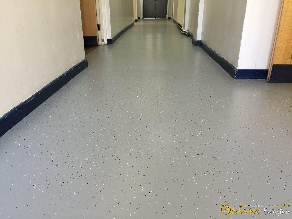 Anti slippery flooring