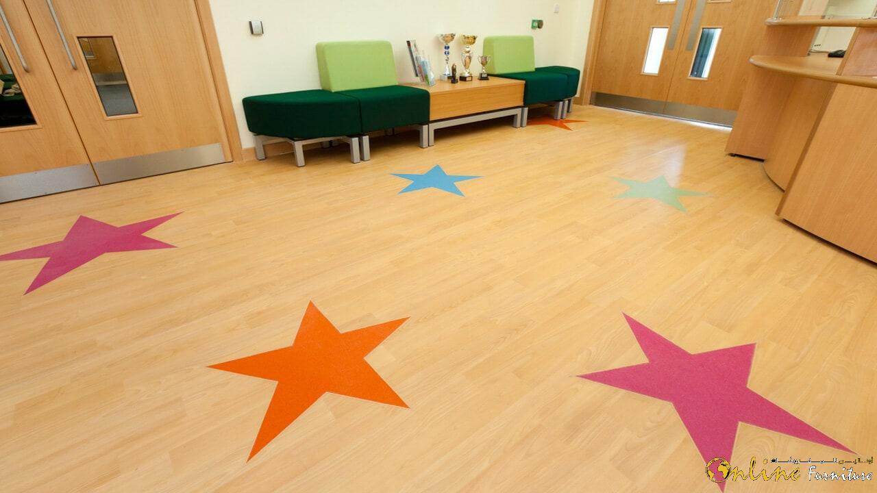 Schools & Nurseries Vinyl Flooring